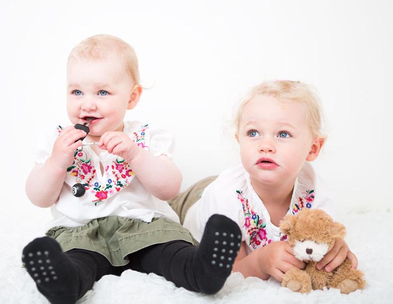 Barnfotografering-syskon